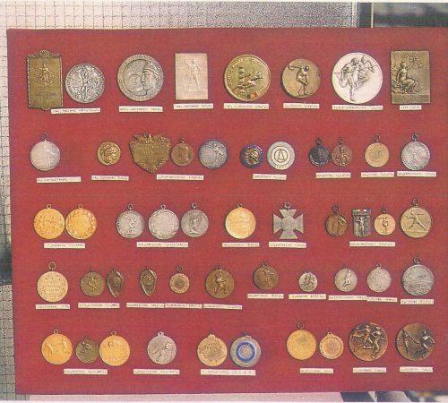 Στο μουσείο μπορείτε να βρείτε σπάνια μετάλλια.